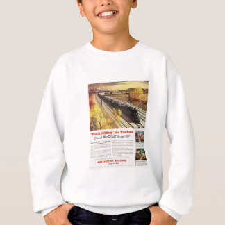 Pennsylvania Railroad Tanker Trains 1942 Sweatshirt