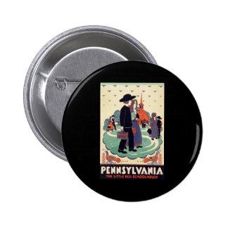 Pennsylvania Railroad The Little Red Schoolhouse 6 Cm Round Badge