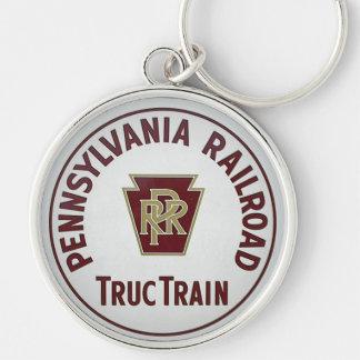 Pennsylvania Railroad TrucTrain Service Key Ring