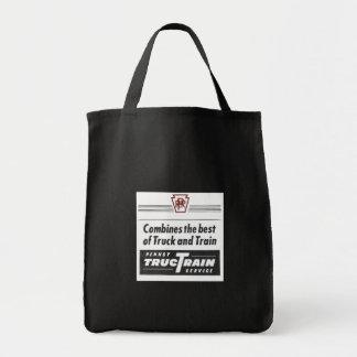 Pennsylvania Railroad TrucTrain Service Grocery Tote Bag