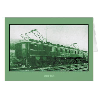 Pennsylvania Railroad's class FF1 Locomotive Card