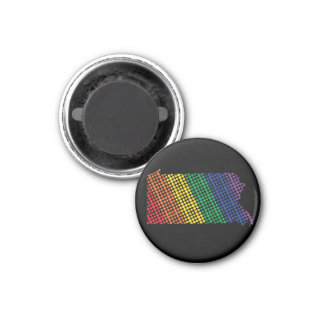 Pennsylvania Rainbow State Magnet