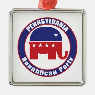 Pennsylvania Republican Party Christmas Ornament