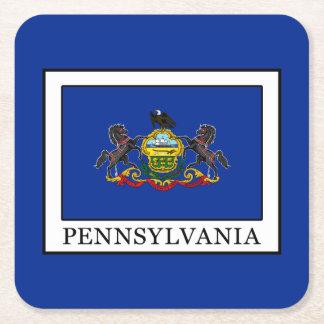 Pennsylvania Square Paper Coaster