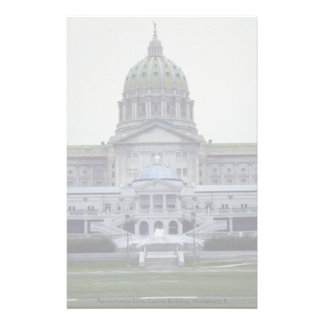 Pennsylvania State Capitol Building, Harrisburg, P Personalized Stationery