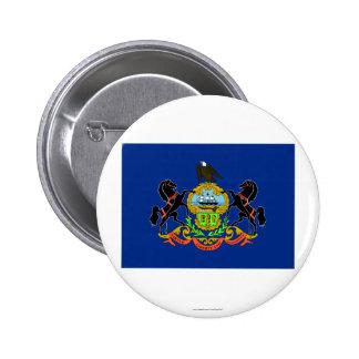 Pennsylvania State Flag Button