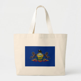 Pennsylvania State Flag Tote Bag