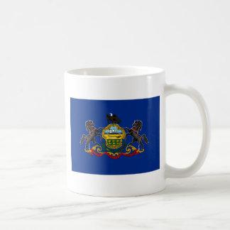 Pennsylvania State Flag Basic White Mug