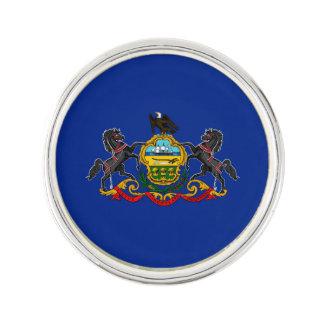 Pennsylvania State Flag Design Lapel Pin