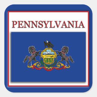 Pennsylvania State Flag Design Sticker