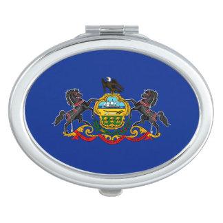 Pennsylvania State Flag Design Vanity Mirror