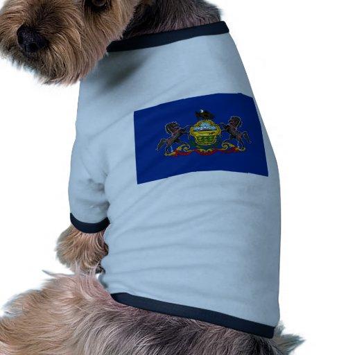 Pennsylvania State Flag Doggie Tee Shirt