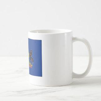 Pennsylvania State Flag Coffee Mugs