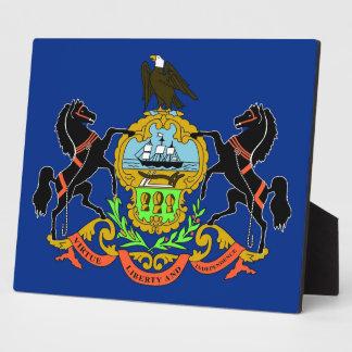 Pennsylvania State Flag Plaque