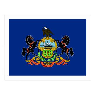Pennsylvania State Flag Postcard