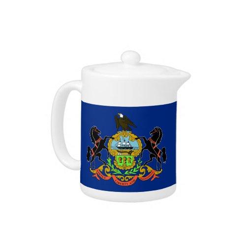 Pennsylvania State Flag Teapot