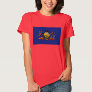 Pennsylvania State Flag Tee Shirts