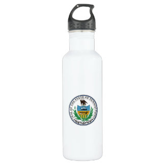 Pennsylvania State Seal 710 Ml Water Bottle