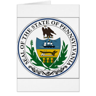 Pennsylvania State Seal Greeting Card