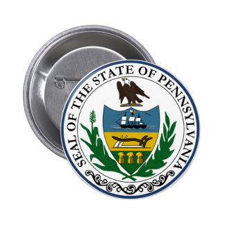 Pennsylvania State Seal Pinback Button