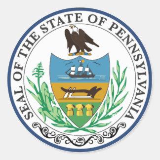 Pennsylvania State Seal Stickers