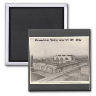 Pennsylvania Station New York 1912 Magnet