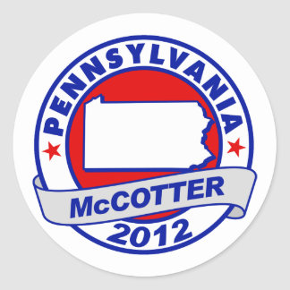 Pennsylvania Thad McCotter Sticker