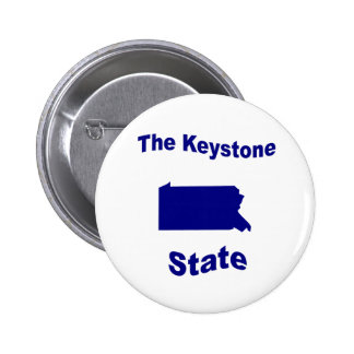 Pennsylvania The Keystone State Pin