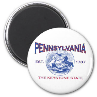 PENNSYLVANIA The Keystone State Refrigerator Magnets