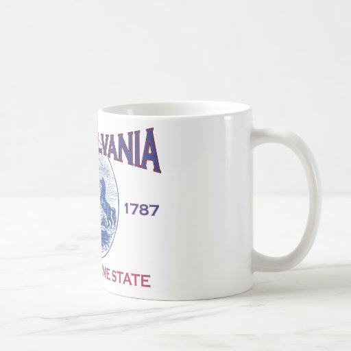 PENNSYLVANIA The Keystone State Mugs