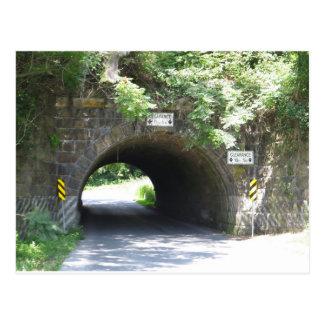 Pennsylvania Tunnel Postcard
