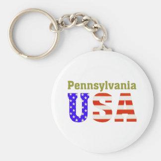 Pennsylvania USA! Key Ring