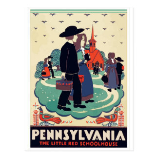 Pennsylvania vintage travel postcard USA