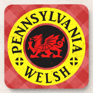 Pennsylvania Welsh American Mousemat Coaster