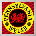 Pennsylvania Welsh American Print