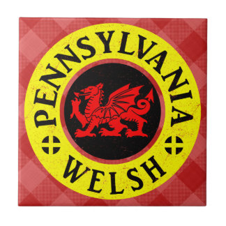 Pennsylvania Welsh American Tile