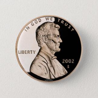 Penny 6 Cm Round Badge