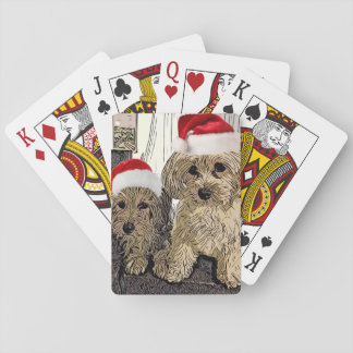 Penny and Copper Christmas Playing Cards
