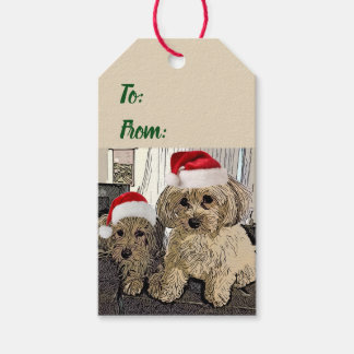 Penny and Copper Christmas Tags