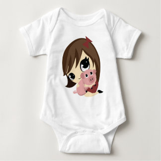 Penny and Snickerdoodle Baby Bodysuit