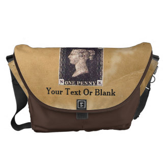 Penny Black Postage Stamp Commuter Bag