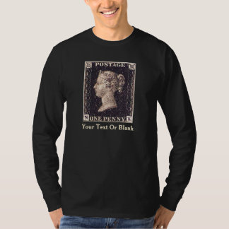Penny Black Postage Stamp T-Shirt
