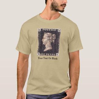 Penny Black Postage Stamp T-Shirt