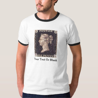 Penny Black Postage Stamp Tee Shirts