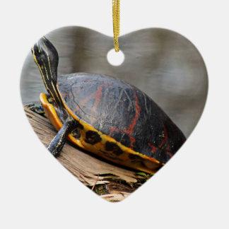 Penny Ceramic Heart Decoration