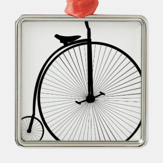 Penny Farthing Metal Ornament