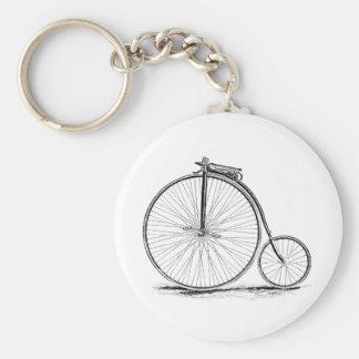 Penny Farthing Vintage High-Wheel Bicycle Key Ring