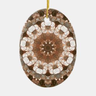 Penny Flower Nov 2012 Ceramic Ornament