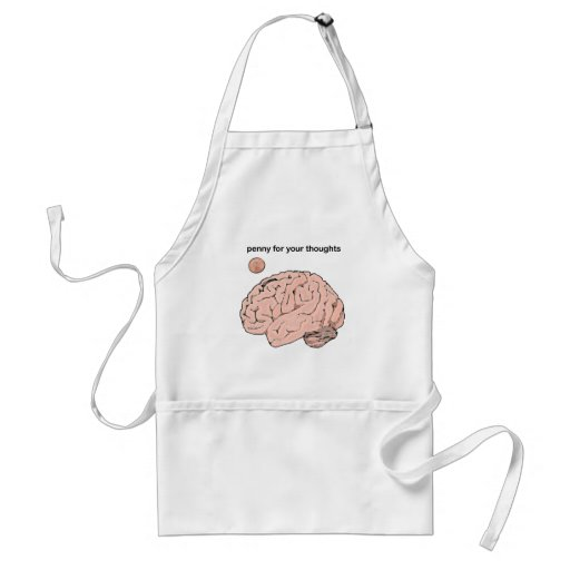 Penny  for your Thoughts Aprons