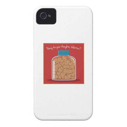 Penny For Your Thoughts Case-Mate iPhone 4 Cases